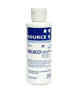 Muko Bottle - Lubricating Jelly, 150 g Flip Cap (No Seal) Hard Plastic Bottle, EA (Source Medical SM1319)