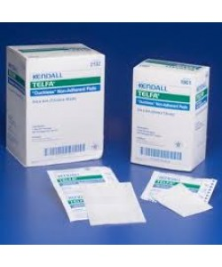 "Tyco Covidien 1961 - TELFA Ouchless Non-Adherent Dressing, 2X3"", STERILE 1's, BX 100"