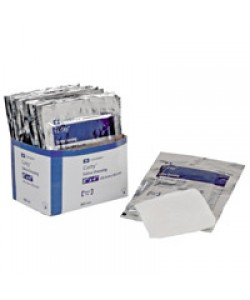 "Tyco Covidien 3606 - CURITY Sterile Wet Dressings, Saline, 4"" X 8"" (BX of 24 Pkgs of 2, 4 BX per CS), CS4 BX48"