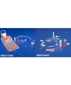 Tyco Covidien 8884702005 - KANGAROO Pump Set, 500ml Bag, Pump Set, Ice Pouch, CS 30