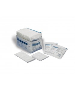 """Tyco Covidien 7198D - Curity 8""""x10"""" sterile Abdominal Pad, Tray of 18, TRAY 18"""