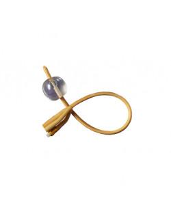 Dover Silicone Elastomer Coated 3-Way Latex Foley Catheter, 22 Fr, 30cc Balloon