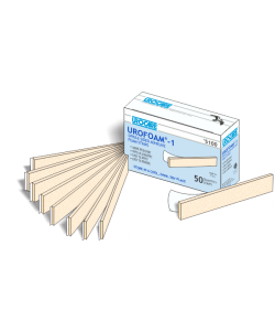 Urocare 5100 - Urofoam-1 Single-Sided Adhesive Foam Strips, Bx/50., BX 50