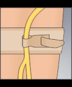 "Urocare 6312 - Catheter/Drainage Tube Strap, Large 22"" (46cm), Pkg 1"