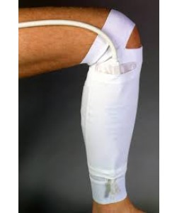 "Urocare 6393 - Urocare Fabric Leg Bag Holder Bag, Lower Leg, Medium (34.5cm Calf), 16"" Long. Latex Free., EACH"