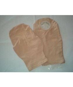 "Weir Comfees 305-10"" - WEIR COMFEE Pouch Cover, 10"" Length, Beige Cotton Knit, 90% Cotton, 10% Spandex, EACH"