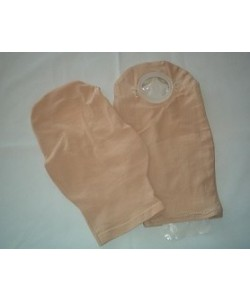 "Weir Comfees 305-12"" - WEIR COMFEE Pouch Cover, 12"" Length, Beige Cotton Knit, 90% Cotton, 10% Spandex, EACH"