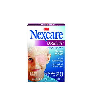 3M 1539 - 3M Nexcare Opticlude Orthoptic Eye Patch - Regular, BX 20