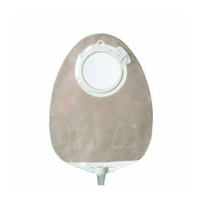 Coloplast 11855 - SenSura Click 2pc.  Urostomy Pouch Maxi, Transparent 50mm, BX 10