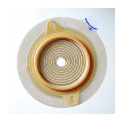 "Coloplast 2881 - Assura 2 pc. Standard Wear Skin Barrier w/ Flange, Cut-to-Fit, Non-Convex, Green 3/8"" - 1-3/8"" (10-35mm), BX 5"