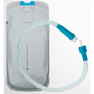 Coloplast 28924 - SpeediCath Flex Soft Male Hydrophilic Intermittent Catheter, 44cm long, 14 French, BX 30