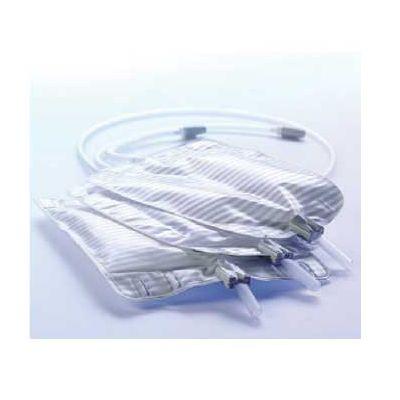 Coloplast 5174 - Conveen Security+ Contour Leg Urine Bag, Non-Latex, Fabric Leg Bag Straps 28 oz. (800mL) Xlarge, BX 10 KITS