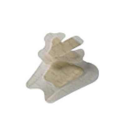 "Coloplast 9643 - Biatain Ag Adhesive Heel Foam Antimicrobial Dressing w/ Silver (Sterile) 7-1/2"" x 8"" (19cmx20cm), BX 5"