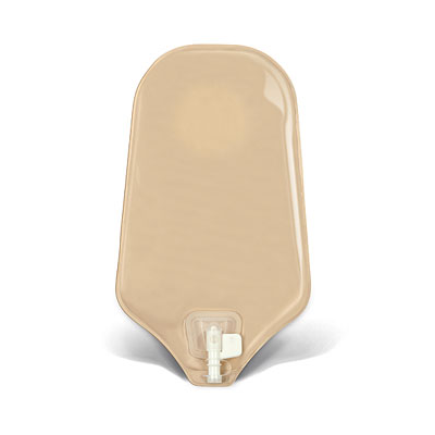 """ConvaTec 401555 - SUR-FIT Natura  Uro. Pouch w/ Accuseal Tap, Std, Opq 70mm (2 3/4""""), Two Piece System, BX 10"""