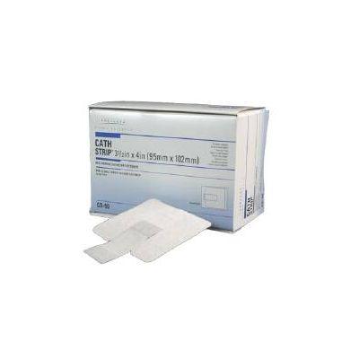 Derma Sciences CS50 - CATH-STRIP Recloseable Catheter Fastener, Adhesive, Latet Free (DERMA-CS50), BX 50
