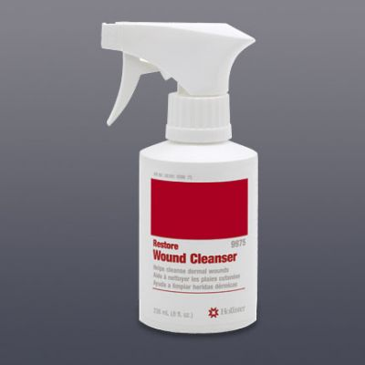 Hollister 529975 - RESTORE Wound Cleanser 8 oz Spray, (New # 529975) Non Antiseptic/Antimicrobial., EA