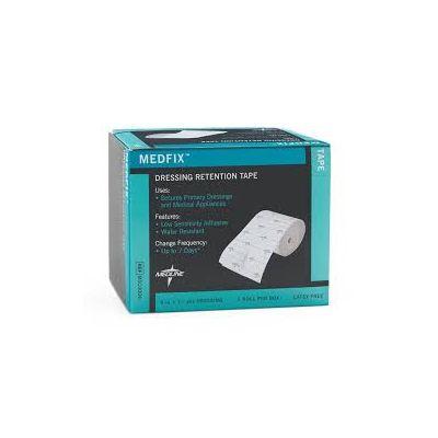 """MEDLINE MSC4004 - MEDFIX Tape Retention Dressing 4"""" X 11yds, Latex Free, BX 1"""