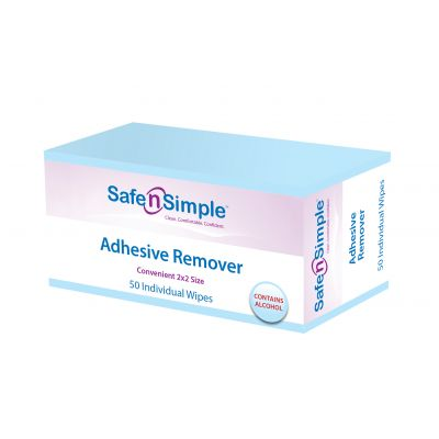 """Adhesive Remover - 2"""" x 2"""" (contains Alcohol)"""