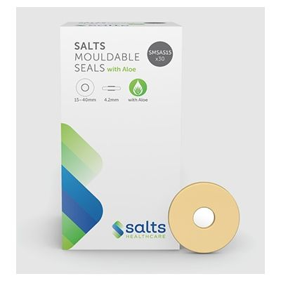 Salts Mouldable Seals with Aloe, Thin, 35-70mm Diameter, 3mm Thickness