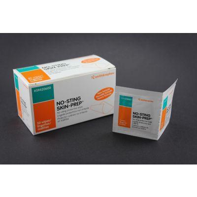 Smith&Nephew 59420600 - SKIN PREP WIPES, No-Sting Protective Dresssing Wipes,  Box/ 50, BX 50