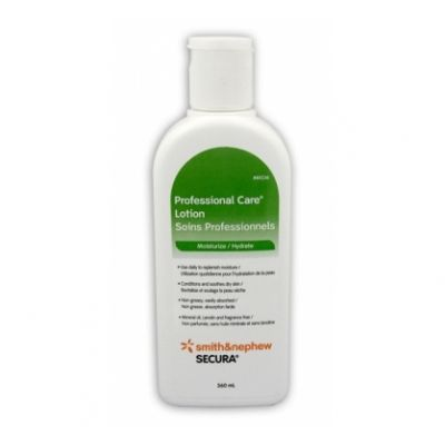 Smith&Nephew 80236 - Secura Professional Care Lotion, 360ml, (Mineral Oil, Lanolin & Fragrance Free)., EACH