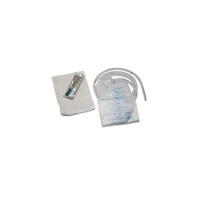 """Tyco Covidien 145541 - 1500cc Flip Top Enema Bag, 60"""" Tube Attached Lubrct'd End, Single Use LATEX-FREE, EACH"""