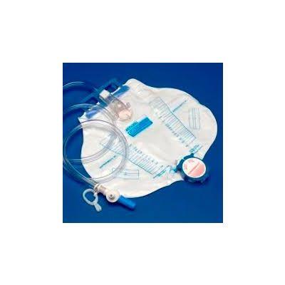 Tyco Covidien 6308LL - KENDALL Curity 2000cc Drain Bag,Splashguard II,Safeguard Needleless Sample Port, CS 20