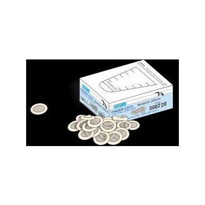 Urocare 500220 - Finger Cots, Medium 20mm, BX 144