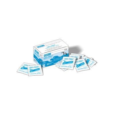 Urocare 5500 - Uro-Prep Protective Skin Wipes, box/50, BX 50