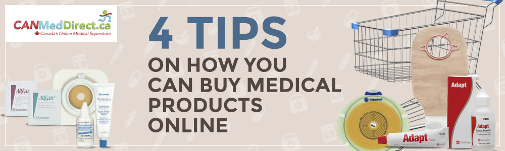 4 Tips on How You Can Buy Medical Products Online