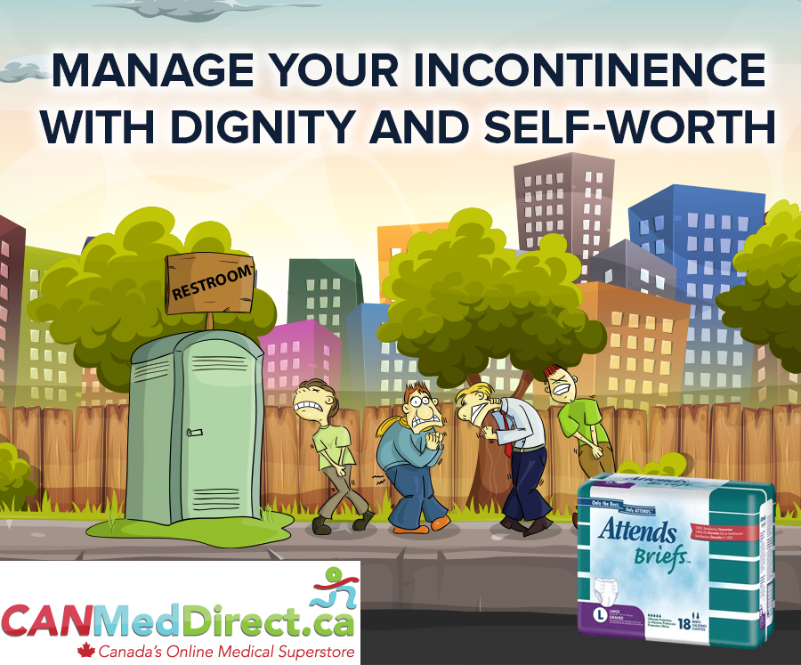 Manage Your Incontinence with Dignity and Self-Worth